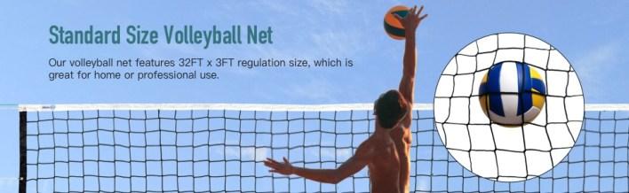 Standard Size Volleyball Net