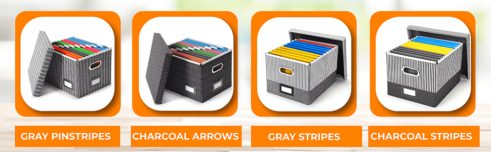 Our File Boxes Options