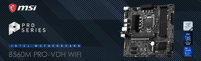 B560M PRO-VDH WIFI Banner