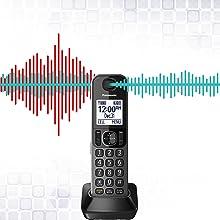 KX-TGF38xM Noise Reduction