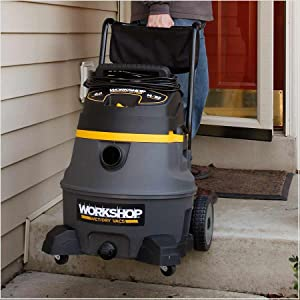 mobile shop vacuum with wheels