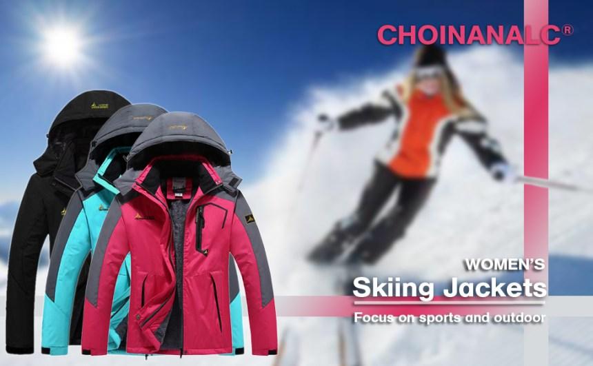 women ski jacket for winter sports