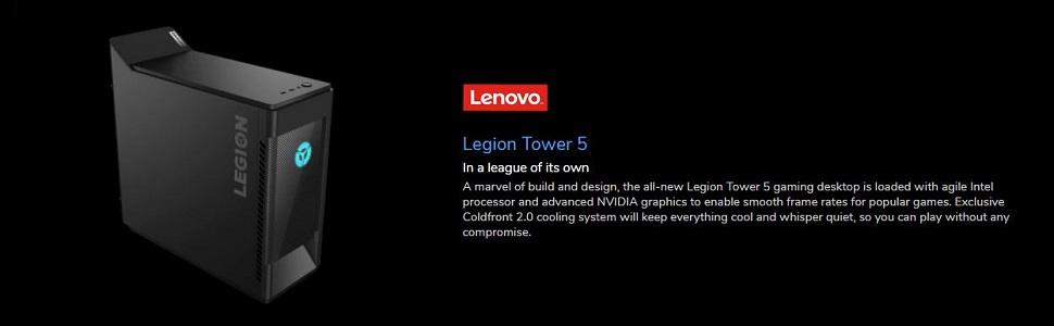 Lenovo Legion T5 Banner