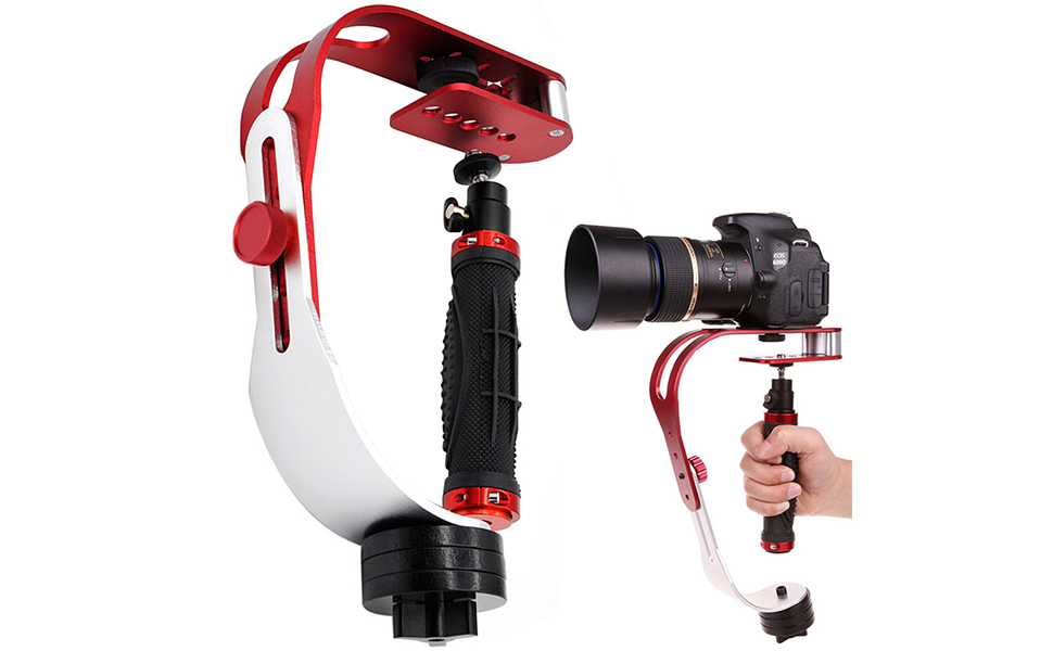 Amazon.com : AFUNTA Pro Handheld Video DSLR Camera Stabilizer ...