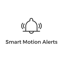 smart motion detection and instant alerts with reolink security camera bullet