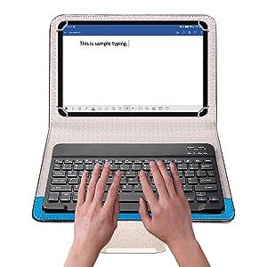 Keyboard Flip Case for Tablet