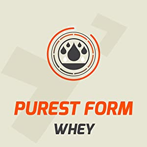 Purest form whey