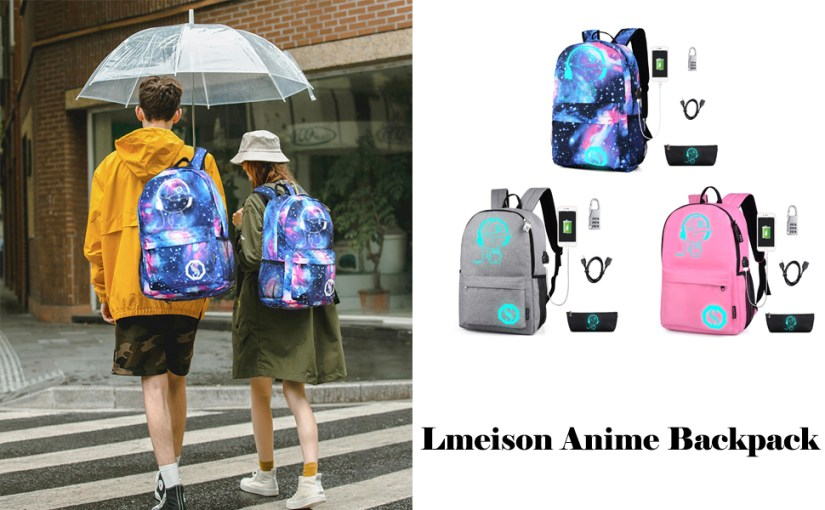 Anime Luminous Backpacks