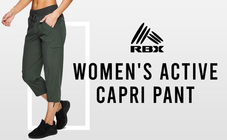 womens active pants capri