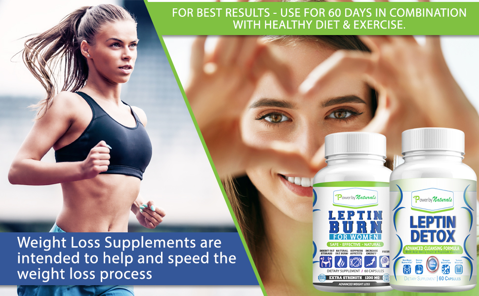 Leptin Detox and Leptin Burn = leptin resistance supplements for weight loss