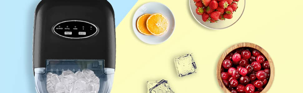 Have a cool summer time with our cute Ice maker