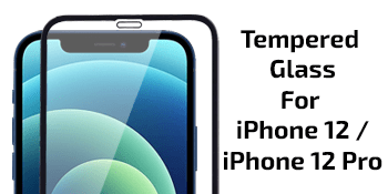 iPhone 12 Tempered Glass