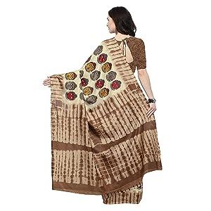Rajnandini Women's Silk Kalamkari Printed Saree