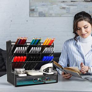 Wellerly desk organizer