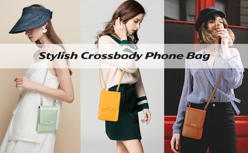 Peacocktion small phone crossbody bag