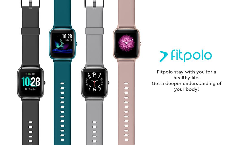 smart watch fitness tracker watch for women men kids