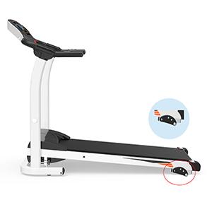 Fold Up Home Treadmill Running Machine 1.5 HP monitor 270 LB heavy duty