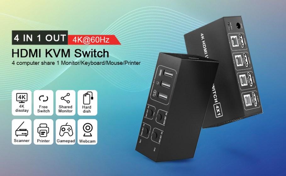 Commutateur KVM Switch HDMI