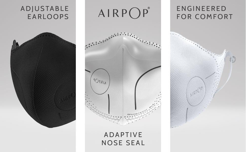 AIRPOP, face masks, masks, protective mask, protection, air wearables