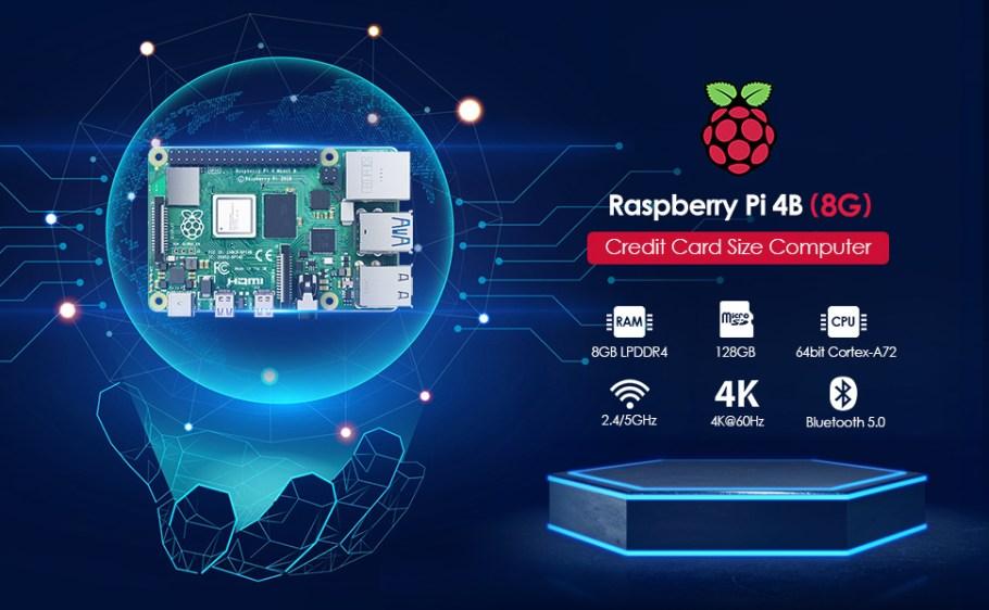 Raspberry pi 4 8+128G
