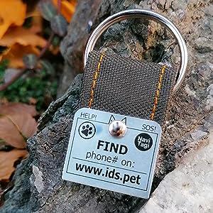 Adventure Dog ID Tag