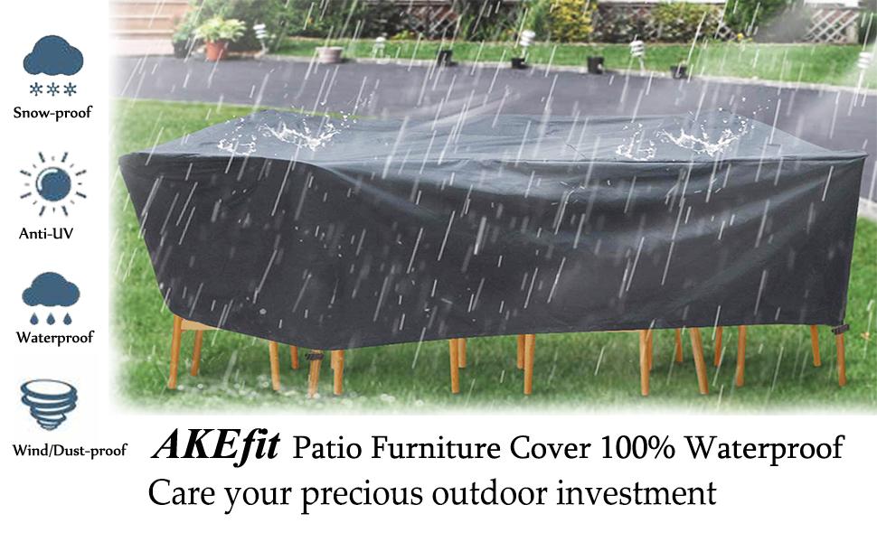 akefit patio furniture cover