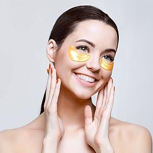 under eye patches, under eye mask, under eye pads, skin hydration