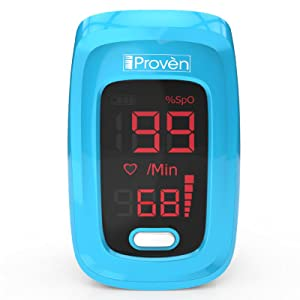 Easy to use oxygen saturation monitor