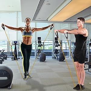 resistance tube, toning tube, tonning tube, toning tube for workout,