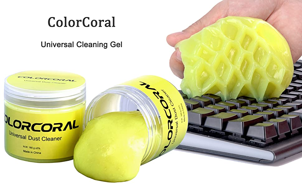 cleaning gel keyboard cleaner car cleaning gel slime putty jelly mud office dust remover cleaner