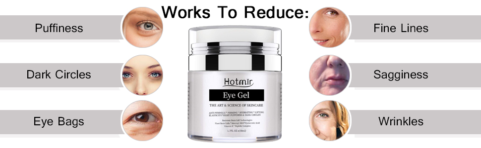 This anti aging wye cream works to reduce signs of aging