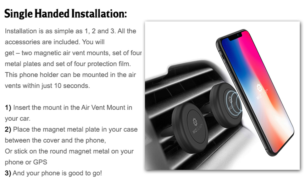 magnetic cell phone holder for car phone holder car magnetic car phone mount car mount vent mount