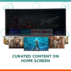 Curated Content on Home Screen