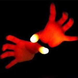 Magic show for kids magic thumbs magic props for party fun for kids magician clown led magic thumb