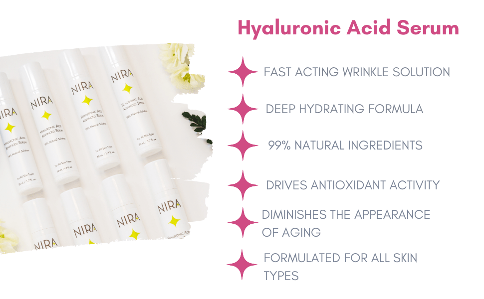 benefits of our hyaluronic acid serum