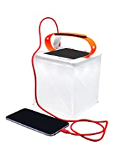 PackLite Titan 2-in-1 Phone Charger Solar Lantern