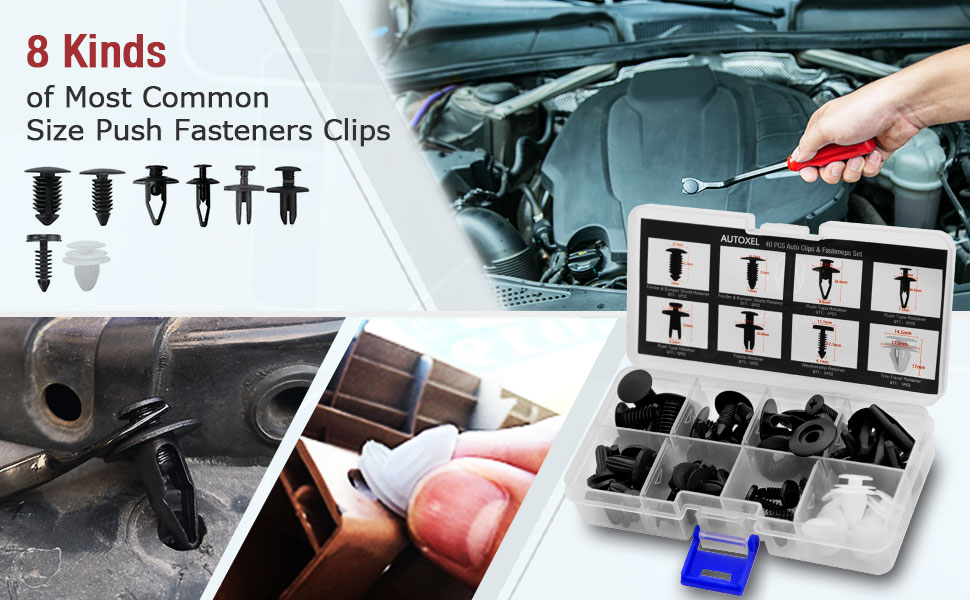 Car Retainer Clips