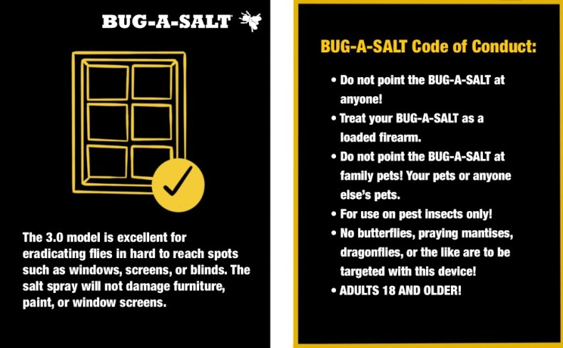 Bug-A-Salt, Yellow 3.0