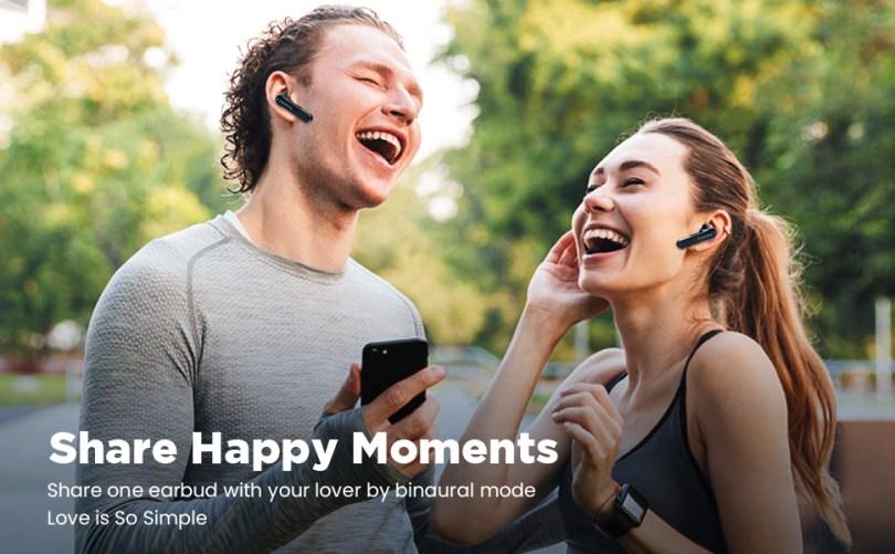 share happy moment