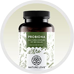 Probiona Probio Kulturen komplex darm flora darmflora Bakterienkulturen magensaftresistenten Kapseln