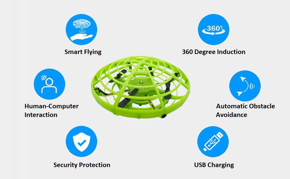 kids UFO drone