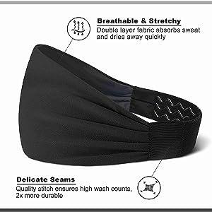 Breathable Headbands