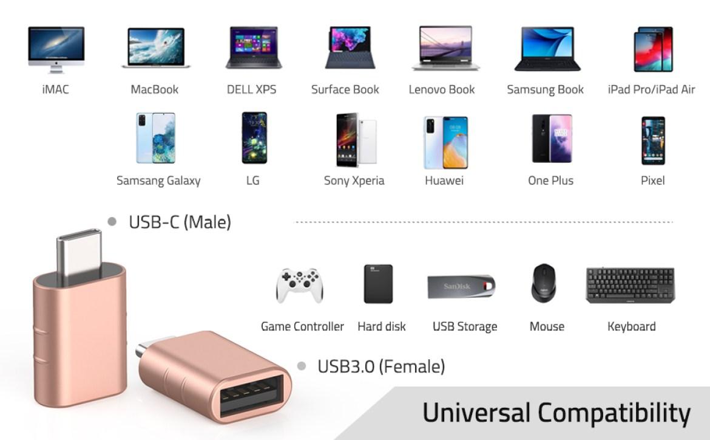 USB C to USB adapter