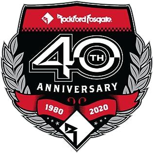 40 anniversary rockford fosgate