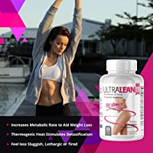 Ultra Lean 11 Weight Loss Fat Burner Supplement Lifestyle Girl Arms