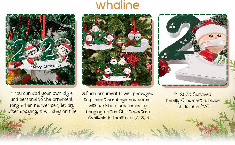 Christmas Hanging Ornaments 2020