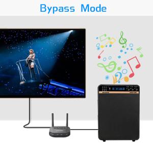Bypass modus (kein Bluetooth)