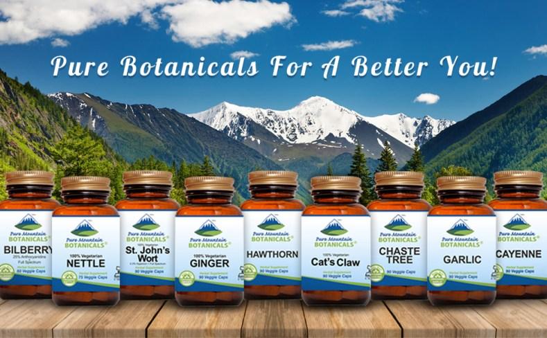 pure botanicals supplements health healthy vegan vegetarian veggie vitamins vitamin herbs herbal