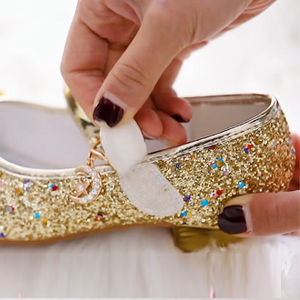gold shoes for girls