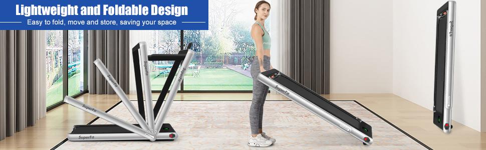 2 in 1 treadmill